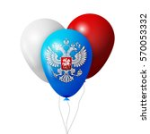 balloons with coat of arms of...
