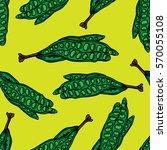 petai seamless pattern hand... | Shutterstock .eps vector #570055108
