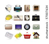 online business icon set | Shutterstock .eps vector #57007634