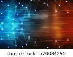 digital abstract technology... | Shutterstock . vector #570084295