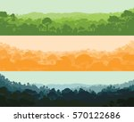 horizontal wood afternoon ... | Shutterstock .eps vector #570122686