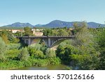 Bridge In Besalu Village ...