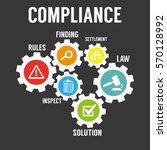 compliance | Shutterstock .eps vector #570128992
