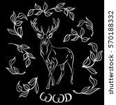 world wildlife day with background. Lettering design brush script illustration hand-drawn. Vector illustration   Shutterstock vector #570188332