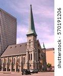 Small photo of Ottawa, Canada - May 18, 2008: Church on the Elgin Street.