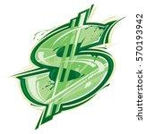 dollar sign   Shutterstock .eps vector #570193942