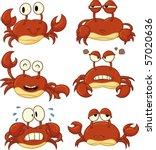 Cute Cartoon Crabs. All In...
