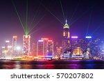 hong kong   february 21 ... | Shutterstock . vector #570207802