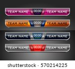 scoreboard sport template for... | Shutterstock .eps vector #570214225
