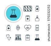vector illustration of 12... | Shutterstock .eps vector #570232252
