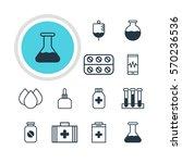vector illustration of 12... | Shutterstock .eps vector #570236536