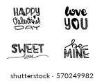 design lettering with a quote...   Shutterstock .eps vector #570249982