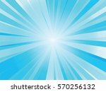 abstract blue rays background | Shutterstock .eps vector #570256132