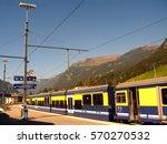 mountain train station | Shutterstock . vector #570270532