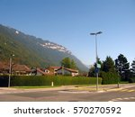 switzerland peaceful town... | Shutterstock . vector #570270592