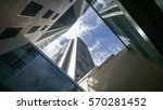 view of skyscraper from... | Shutterstock . vector #570281452