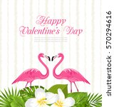 illustration cute card with... | Shutterstock . vector #570294616