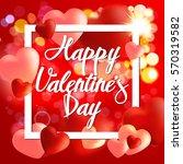 valentine. card. | Shutterstock .eps vector #570319582