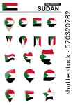 sudan flag collection. big set...