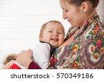 Mom Breast Feeding Baby Girl