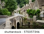 Quaint Castle Combe Village...