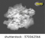 fog or smoke isolated...   Shutterstock .eps vector #570362566