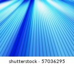 Blue Dynamic Lines Background...