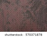 rusted corrugated steel plate... | Shutterstock . vector #570371878
