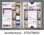 business brochure template.... | Shutterstock .eps vector #570378832