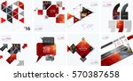 business vector design elements ... | Shutterstock .eps vector #570387658