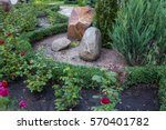 Rockery With Big Stones And...