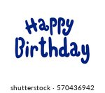 happy birthday. greeting card.... | Shutterstock .eps vector #570436942
