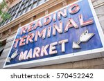 reading terminal market | Shutterstock . vector #570452242