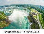 Niagara Falls Aerial Skyline...
