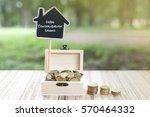 business concept   debt... | Shutterstock . vector #570464332