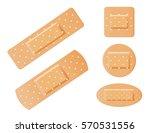 medical bandages vector | Shutterstock .eps vector #570531556