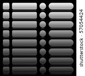 8 empty web 2.0 button... | Shutterstock .eps vector #57054424