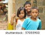Stock photo poverty children 57055903