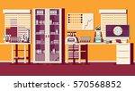 medical laboratory illustration | Shutterstock . vector #570568852