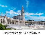 The Sanctuary Of Fatima In A...