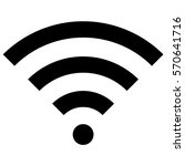 vector illustration of wifi... | Shutterstock .eps vector #570641716