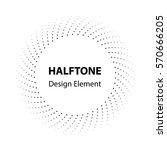 halftone element | Shutterstock .eps vector #570666205