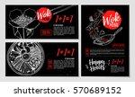 hand drawn vector illustration. ... | Shutterstock .eps vector #570689152