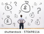 credit   investment or... | Shutterstock . vector #570698116