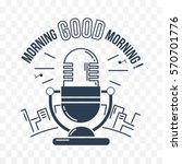 icon good morning in the form... | Shutterstock .eps vector #570701776