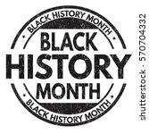 black history month grunge...   Shutterstock .eps vector #570704332
