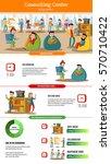 teamwork people infographic... | Shutterstock .eps vector #570710422