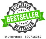 bestseller. stamp. sticker.... | Shutterstock .eps vector #570716362