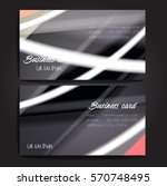 stylish business cards with...