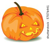 halloween pumpkin eps10 | Shutterstock .eps vector #57076441